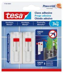 Tesa Prego Adesivo Ajustável Para Azulejo e Metal 3 kg