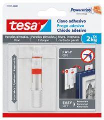 TESA Prego adesivo ajustável para azulejo e metal 4kg