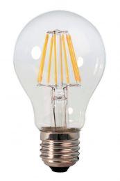 Bombilla LED E27 6.5W Filamentos