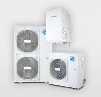 Aerotermia bomba de calor: Agua, frío y calefacción BIBLOC AEROTHERM V17 16kW