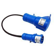 Adaptador CEE Plug (1F+N+TT) 16 - EV Portable