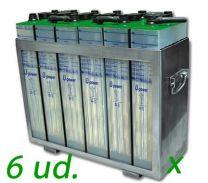 Bateria traslucida 15 años vida útil