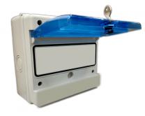 Caja estanca modular para protecciones eléctricas (5 Módulos)