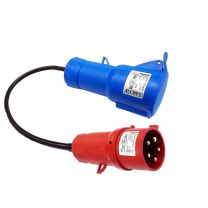 Adaptador CEE Plug (1F+N+TT) 32 - EV Portable