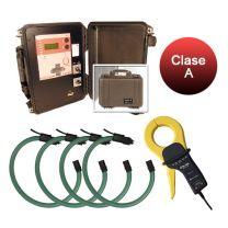 Kit QNA-P RS Circutor, equipamento portatil para registo de qualidade de fornecimento, classe A
