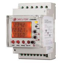 Medidor de potencia 230 V para carril DIN circutor
