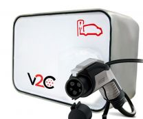 New V2C Tipo 1 Punto de Recarga para Vehículos Eléctricos