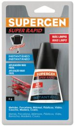 Pegamento Instantáneo de Pincel SUPERGEN Super Rapid 5g