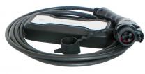 Manguera CMT-PCD-020-B1016 Tipo 2 Schuko-Negro