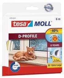 Perfil de caucho Tesa Moll Classic D 3-7mm
