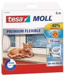 Perfil de silicona Tesa Moll PREMIUM FLEXIBLE 1-7mm