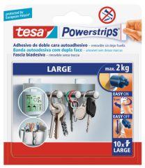 Tira autoadhesiva de doble cara TESA Powerstrips