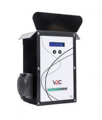 UP Socket Punto de Recarga para Vehículos Eléctricos