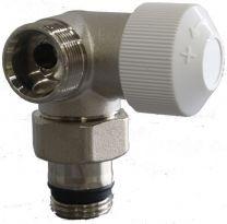 Válvula termostática Vertical Izquierda 1/2''